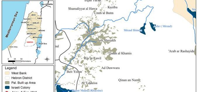 The Israeli colony of Asfar, attacks on Palestinian citizens and their  agricultural land