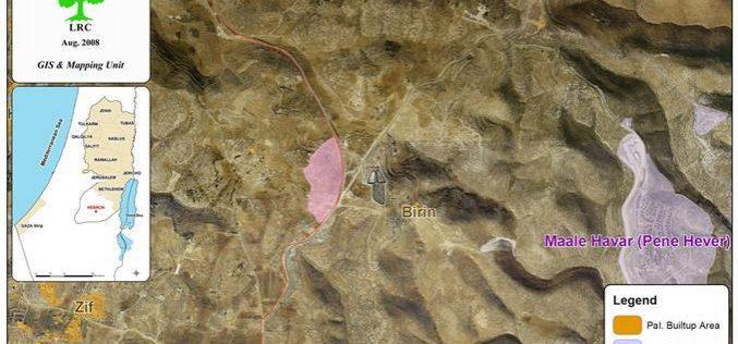 المستعمرون الإسرائيليون … اعتداءات  على المزارعين الفلسطينيين وأراضيهم في وادي حورة