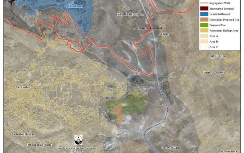 Alert on settlers' upcoming attack on 'Ush Ghurab' site east of Beit Sahour city