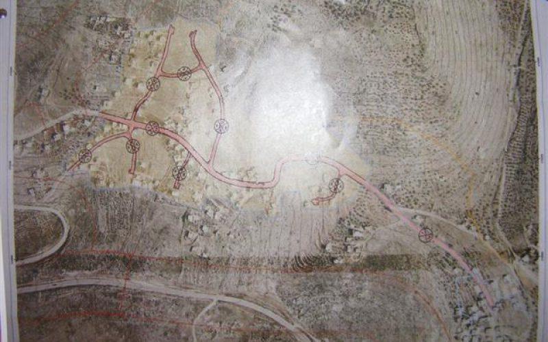قوات الاحتلال تصدر مخطط هيكلي جديد في قرية بروقين