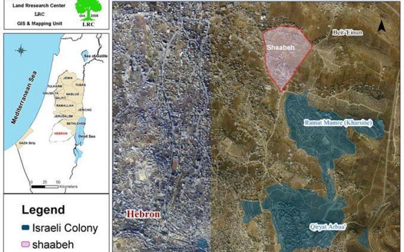 سلطات الاحتلال تضيء مستوطناتها على حساب أراضي المواطنين الفلسطينيين في منطقة الشعابة في الخليل