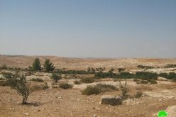 """Israeli Occupation Forces Confiscates 22 Dunums South of Yatta and Declares 150 Dunums as """"Closed Military Area."""""""