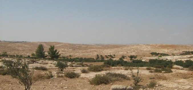 "Israeli Occupation Forces Confiscates 22 Dunums South of Yatta and Declares 150 Dunums as ""Closed Military Area."""