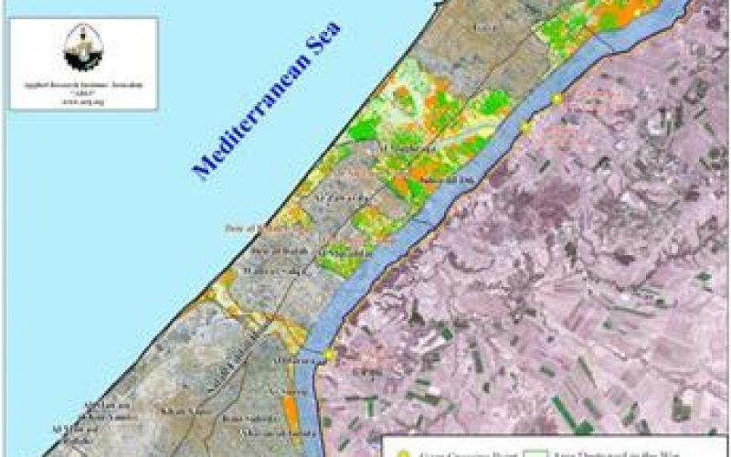 Between December 27, 2008 and January 18, 2009 Israel destroys 29% of Gaza's Agricultural Area