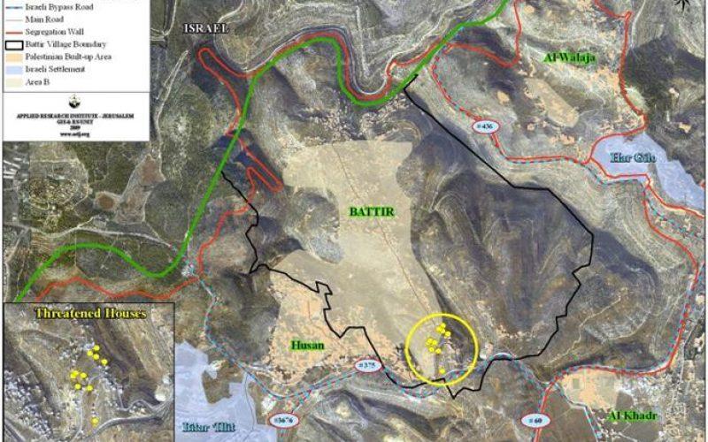 """Battier: A Palestinian Village marked for Abolition"""