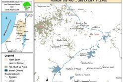 مستعمرة ) كرمئيل( تتوسع على أراضي الفلسطينيين والهدم لمنازل الفلسطينيين يتواصل في قرية أم لصفة