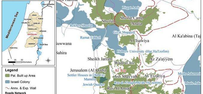 الاحتلال يخطر أهالي حي السهل بهدم مساكنهم في حي الطور