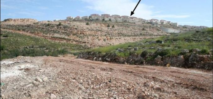 The Israeli bulldozers are in motion in Nahhalin Village