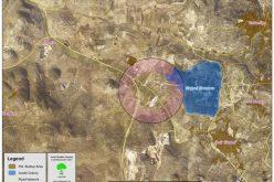 التهام المزيد من الأراضي الفلسطينية لشق طريق استيطاني جديد في قرية دير شرف