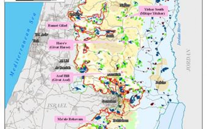 "Israel Misleads and Manipulates the International Community with regard to ""Settlements Expansion"""