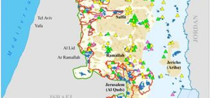 """232 Obstacles to the Peace Process <br> """"93 Israeli Settlement Outposts were erected since the Road Map of 2003"""""""