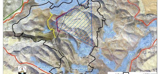 قرية نحالين تقع اسيرة شبكة الاسرائيلية للكهرباء