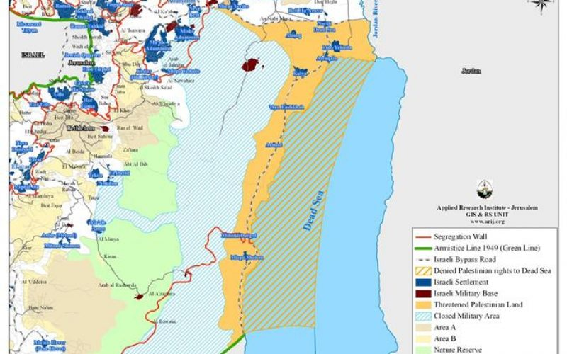 What lies behind the Israeli motion to turn 139000 dunums to State lands at the Dead Sea Shores?