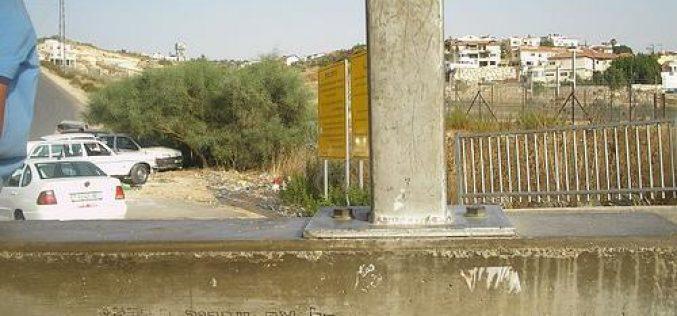 More halt of construction orders in Azzun Atme  ghetto
