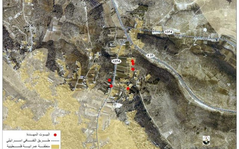"""الاحتلال الاسرائيلي يستهدف أهالي بلدة اذنا بمزيد من أوامر """"وقف العمل"""""""