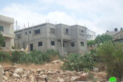 Israeli Occupation Forces Issues Stop  Work Orders against Structures in the Village of Deir Ballout
