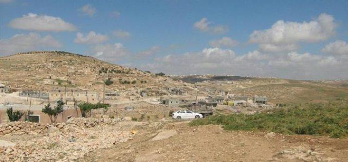 Israeli Stop Work Orders against Palestinian Houses and Structures in Khirbet Twani