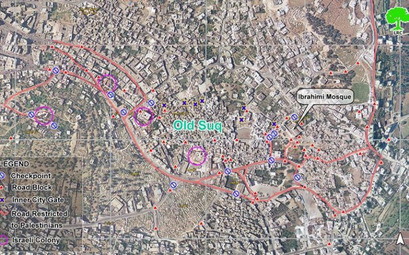 Settlers' violation continue unabated inside Hebron' old city