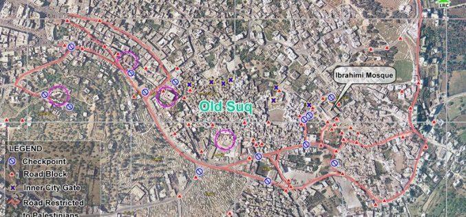 المستعمرون يصعدون اعتداءاتهم ويسرقون بهجة شهر رمضان في بلدة الخليل القديمة