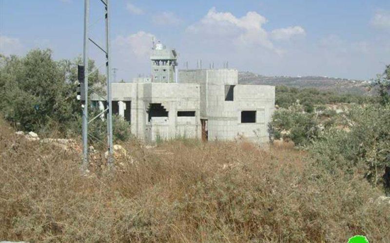Halt of construction orders in Haris village