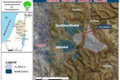 سلطات الاحتلال تدمر بركة لجمع المياه في منطقة البقعة شرق الخليل