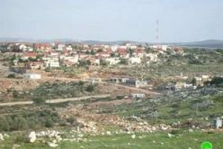 Israeli Colonial expansions on Deir Istiya village lands