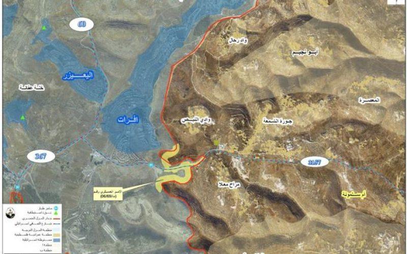 ممارسات الاحتلال الاسرائيلي في قرية أم سلمونة جنوب بيت لحم