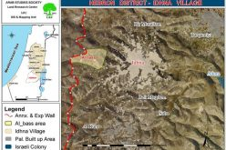 جرافات الاحتلال تدمر آباراً وغرفاً زراعية غرب بلدة إذنا بمحافظة الخليل