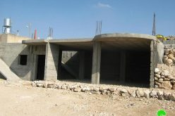 Halt Construction Orders were issued against 4 Palestinian Houses in At Tuwani and Al Karmil village