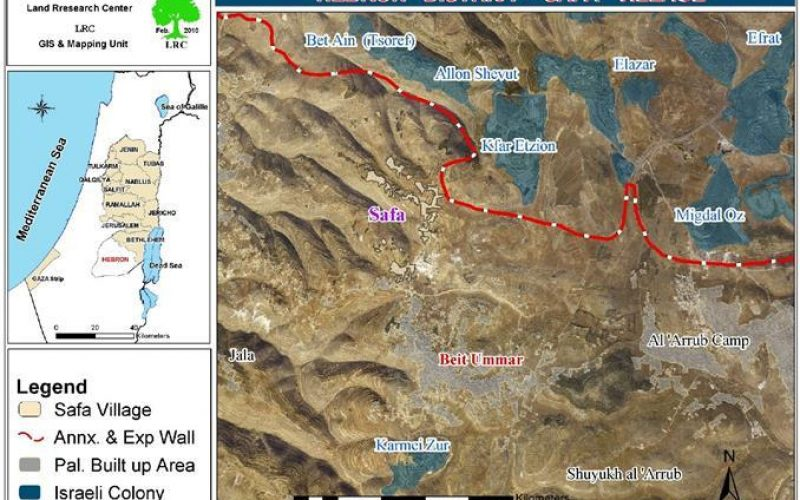 Beit Ummar, a Regular Target for the Israeli Occupation Army and Colonists Hostility