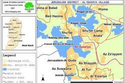 تحويل 660 دونماً من أراضي العيسوية إلى حديقة قومية