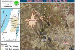 الاحتلال يدمر عدداً من الآبار الارتوازية في قرية كفر دان