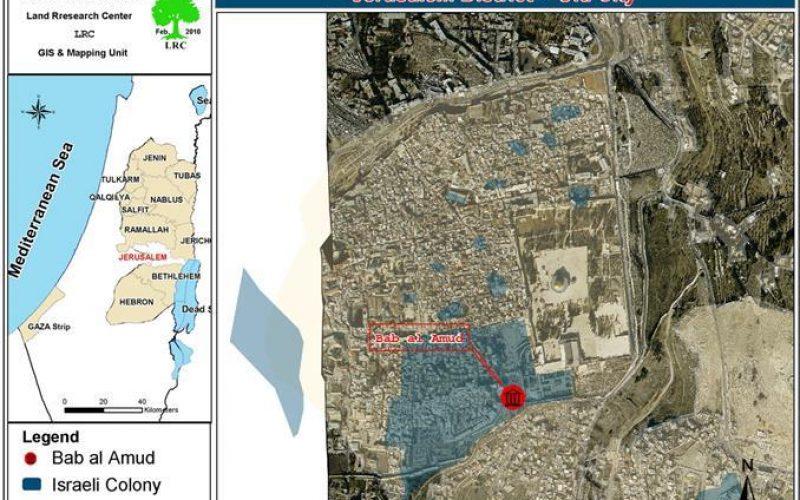 إخطارات بإخلاء محال تجارية في باب العامود في القدس المحتلة
