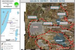 The Segregation Wall Gates… a Source of Continuous Agony for Qalqiliya Farmers