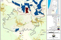 الانتهاكات الإسرائيلية للبيئة الفلسطينية في بلدة بيت أمر