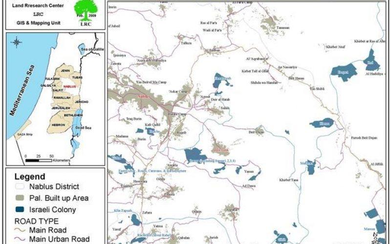 إخطارات بالإخلاء لثلاث منشآت في خربة طانا في بلدة بيت فوريك