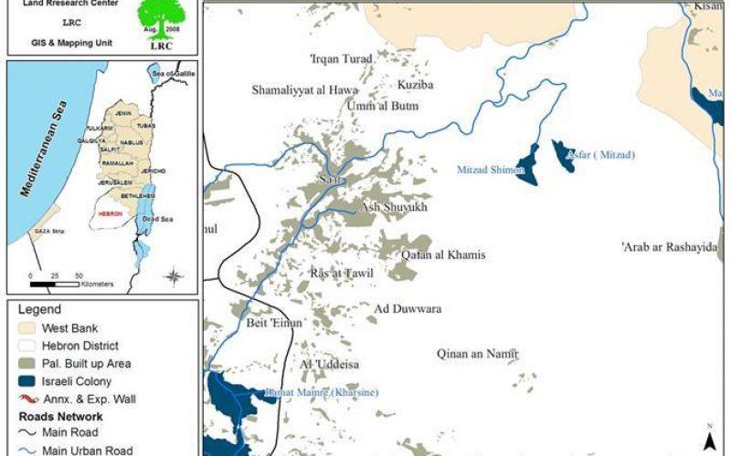 مستعمرون يحرقون أشجار زيتون  في مدينة الخليل وبلدة سعير