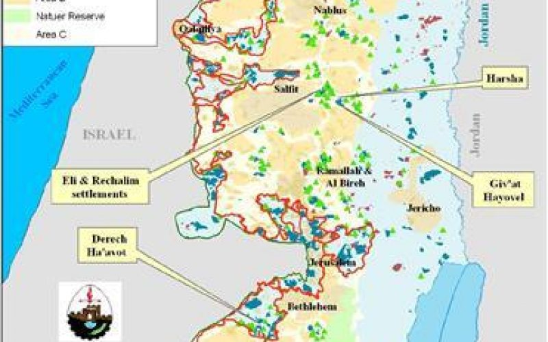 """ Legalizing the Illegal "" <br> Israeli to legalize four Israeli outposts in the Occupied Palestinian Territory"