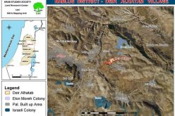 Prohibiting Land Usage in Deir al Hatab