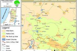 الاحتلال الإسرائيلي يخطر منشأتين بقرية برقة بوقف البناء