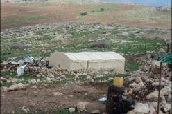 سلطات الاحتلال الاسرائيلي تستهدف خربة يزرا في محافظة طوباس للمرة الثالثة على التوالي خلال أقل من عام