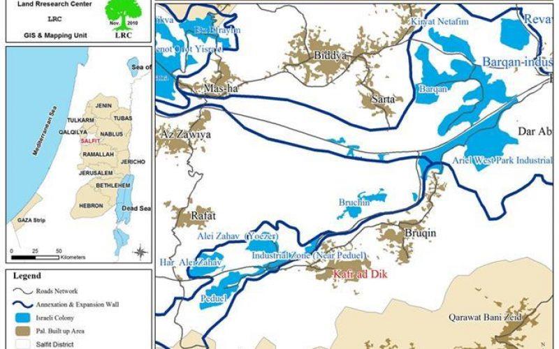 الاحتلال الإسرائيلي يستهدف منطقة دير سمعان الأثرية في بلدة كفر الديك