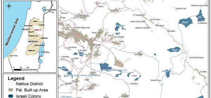 For the Sixth Consecutive Time, The Israeli Occupation Targets Tana in Nablus Governorate