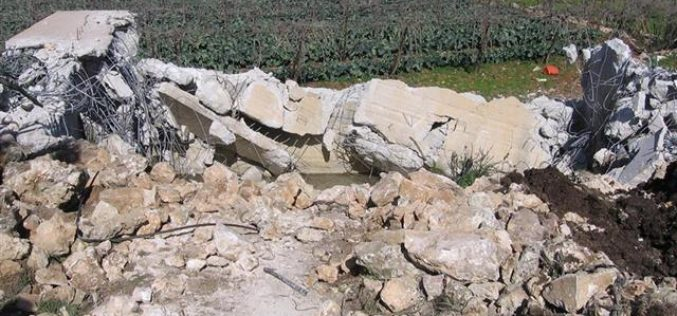 Demolishing a Water Pool