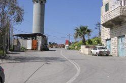 سلطات الاحتلال تحكم الإغلاق على بلدة بيت أمر