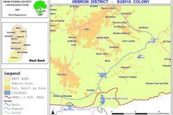 Susiya Colonists convert Palestinian lands into herding ground