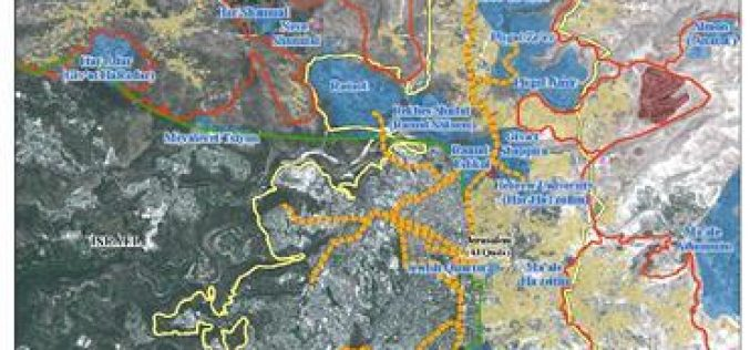 The Israeli Rail Trail Spider-Net Trap for the Anticipated Palestinian State