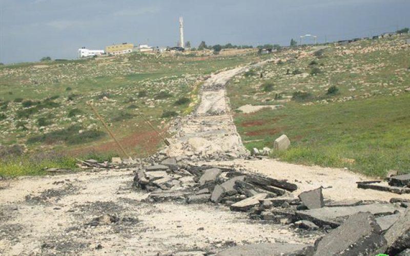 الاحتلال يستهدف مجددا قرية العقبة شرق طوباس