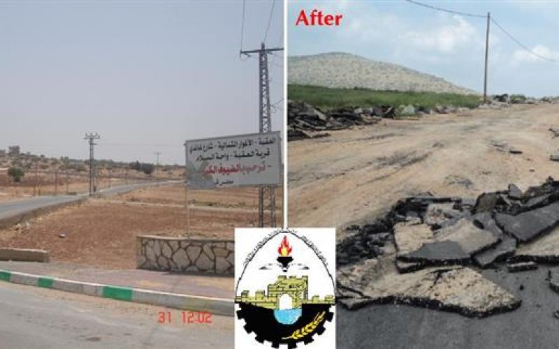 The Israeli Army tornado the northern parts of the Jordan Valley with demolishing