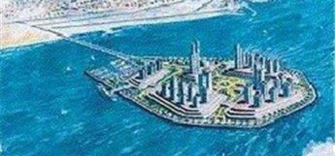 Israel's 'fantasy island' off Gaza's coast